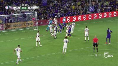 El error de David Bingham casi significa el empate del Orlando contra el Galaxy