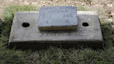 En un cementerio de Caracas y bajo el control del régimen: así fue enterrado el cuerpo del capitán Rafael Acosta