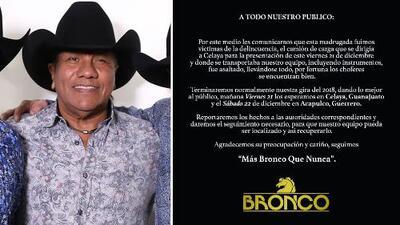 """""""No recuperamos nada"""": entre risas, Lupe Esparza relata qué paso después del asalto a su camión"""