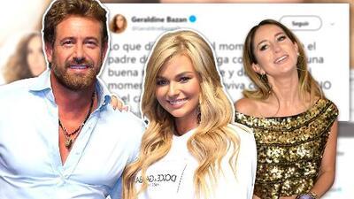 """Gabriel Soto defiende a Irina Baeva del tweet de Geraldine Bazán: """"Es una mujer muy inteligente"""""""