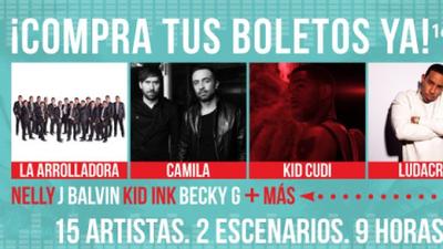 Gana boletos para el Uforia Music Festival
