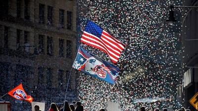 Récord de asistencia en Boston para ver el desfile victorioso de los Patriots