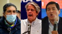 En medio de acusaciones y protestas se desarrolla la carrera por la presidencia de Ecuador