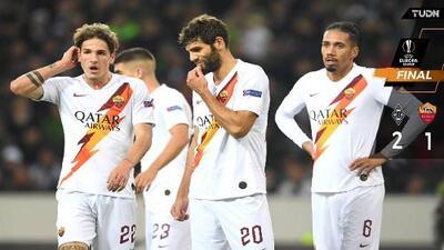 Roma sacó un valioso empate ante el Mönchengladbach