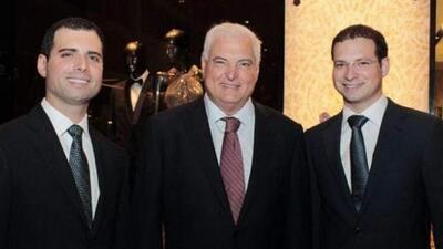 Juez ordena fianza de $1 millón para hijos del expresidente de Panamá