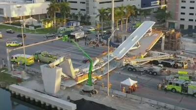 Aprueban extender el contrato de la constructora involucrada en la caída del puente de FIU