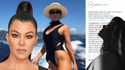 """Kourtney Kardashian """"ama"""" sus estrías y así las muestra sin tapujos (tal como lo hizo Chiquis Rivera)"""