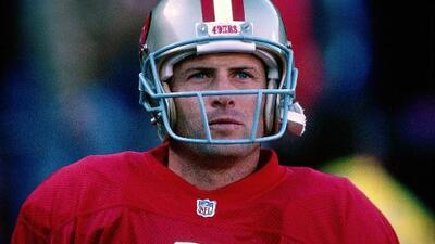 Steve Young, el mejor quarterback zurdo de todos los tiempos