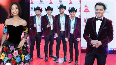 De gala: grupos y cantantes de regional mexicano en la alfombra roja del Latin GRAMMY