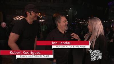 Dana Cortez interviews Robert Rodriguez and Jon Landau