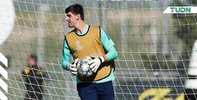 Thibaut Courtois dice estar recuperado para jugar con Bélgica