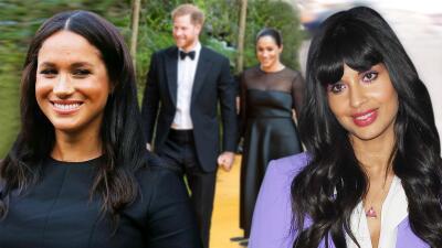 Meghan Markle le dio las gracias a Jameela Jamil por 'presentarle' al príncipe Harry