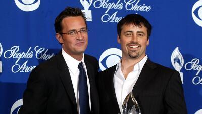 Matt LeBlanc y Matthew Perry no fueron invitados a la boda de Jennifer Aniston