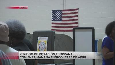 El periodo de votación temprana de las elecciones del noveno distrito comienza el 23 de abril
