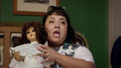 Toña fue poseída por una muñeca