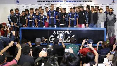 Jugadores de Querétaro respaldan a Rafael Puente