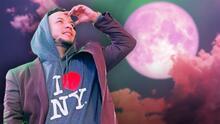 Lorenzo Méndez quedó decepcionado con la llamada 'luna rosa' (por falta de información)