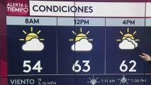 Se pronostica un martes parcialmente nublado para la región