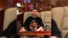 Messi renta su espectacular avión al presidente de Argentina