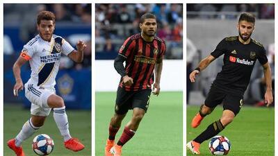 Galaxy, Atlanta y LAFC ponen la carne en el asador el viernes, en inicio de la Semana 13