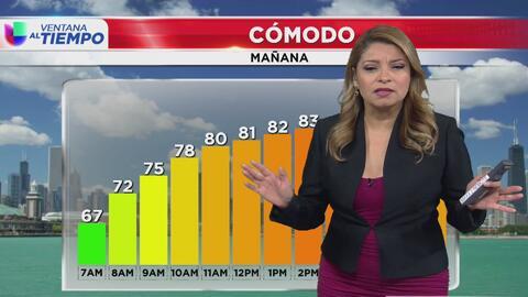 Temperaturas en ascenso y amplios periodos de sol para el inicio de semana en Chicago