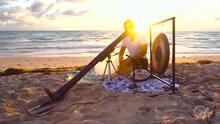 "This ""digital caveman"" wants to make us relax through sound healing"