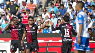 Puebla 0-1 Atlas: El 'Cuau' se despide de la Liga MX con derrota