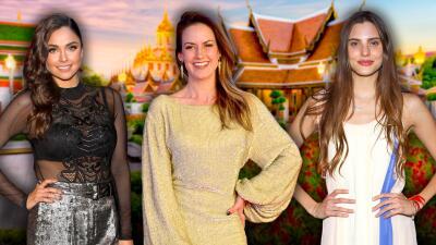 Las hermanas Carvajal de 'Amar a muerte' se reencontraron en Tailandia y Altair Jarabo fue testigo