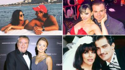 Parejas de famosos que demostraron que el amor no tiene edad