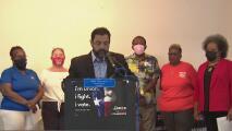 Empleados del Distrito Escolar de Houston rechazan recortes que afectan al personal de servicios de nutrición