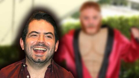 Jose Eduardo Derbez ahora lleva el cabello pelirrojo como 'Canelo', ¿qué opina su papá de esto?