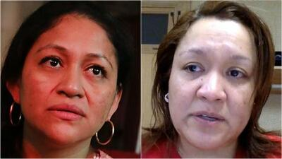 Aura Hernández y Gisela Collazo, los rostros visibles de inmigrantes que buscaron refugio en iglesias