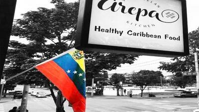 Venezuelan flag stolen various times from Seattle restaurant