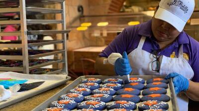 Se venden como pan caliente estas galletas alusivas a los Astros de Houston