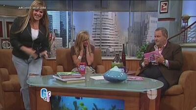 Jenni Rivera explotó y abandonó el programa de 'El Gordo y la Flaca'