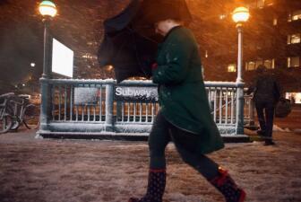 Lluvia y nieve para NY y NJ