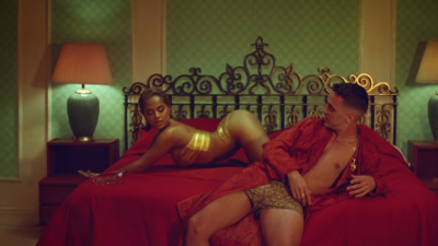 """C. Tangana and Becky G show off """"Booty"""" in new video"""
