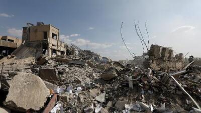 Siria, el día después del ataque conjunto de EEUU, Reino Unido y Francia contra centros de armas químicas