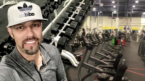 """El video de Esteban Loaiza """"echándole ganas"""" en el gym antes de empezar a cumplir la condena en la cárcel"""