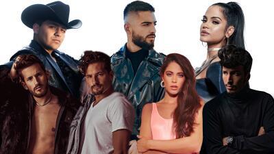 Sebastián Yatra, Tini y más estrellas cantarán en la ceremonia de Premios Juventud