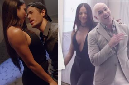Pitbull Y Enrique Armaron La Fiesta Con Exuberantes Mujeres