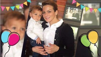 Silvia Navarro celebra el segundo cumpleaños de su hijo