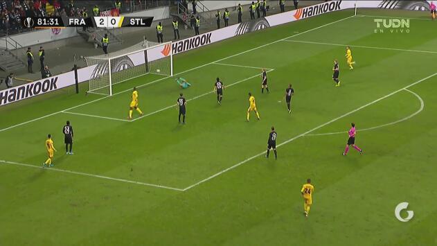 ¡Para el descuento! Amallah consigue el gol en los últimos minutos
