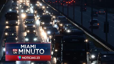 'Miami en un Minuto': Autoridades se preparan para garantizar la seguridad en carreteras durante el Día de Acción de Gracias