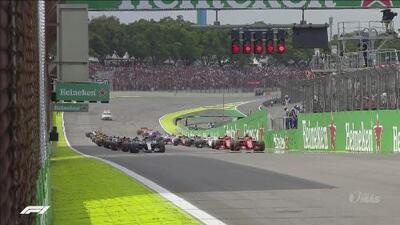 ¡Así fue el emocionante arranque en el Gran Premio de Brasil!