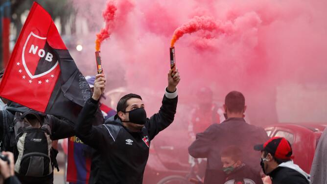Aficionados de Newell's piden regreso de Messi en caravana