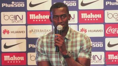 Jackson Martínez fue presentado como nuevo refuerzo del Atlético de Madrid