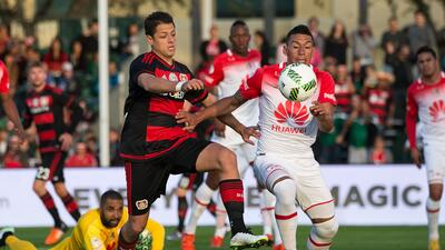Bayer Leverkusen derrota por la mínima a Independiente de Santa Fe en la Florida Cup