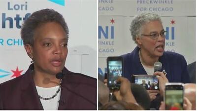 Así vivieron las candidatas a la Alcaldía de Chicago la jornada de elecciones que definirá su futuro