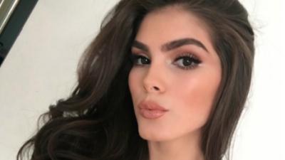 Reina de belleza mexicana publicó, y luego borró, una foto sin maquillaje